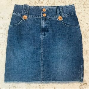 💃HP🕺🏿 Duck Head Denim Mini Skirt